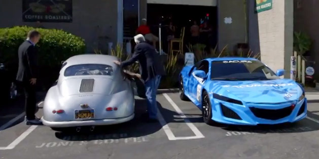 Comedians In Cars Getting Coffee Acura Nsx