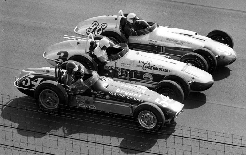 Race Car Builder Don Ward