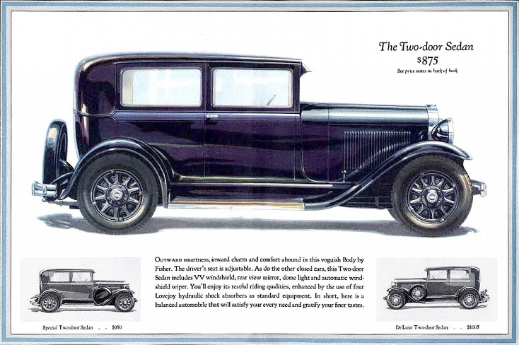 1929 Oldsmobile Six