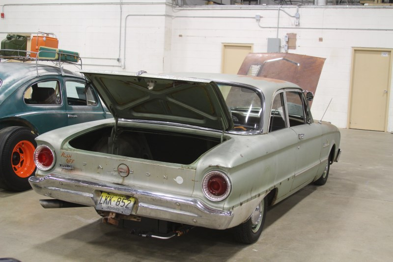 1962 Ford Falcon rear