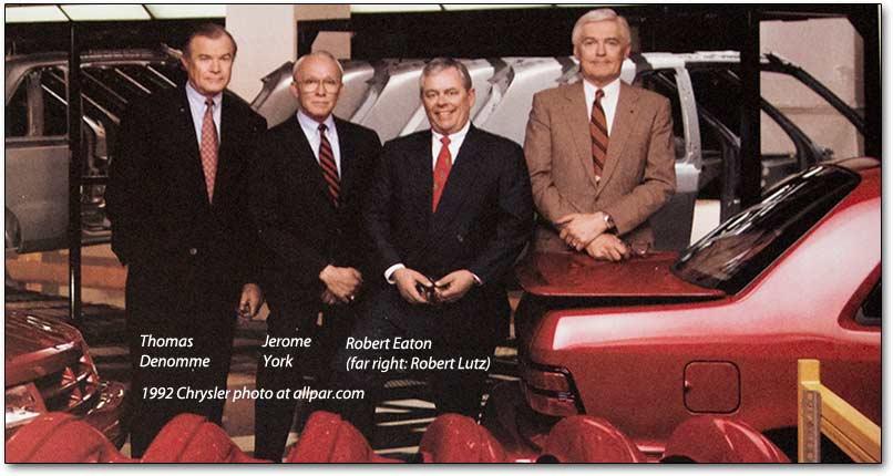 Chrysler Executives 92