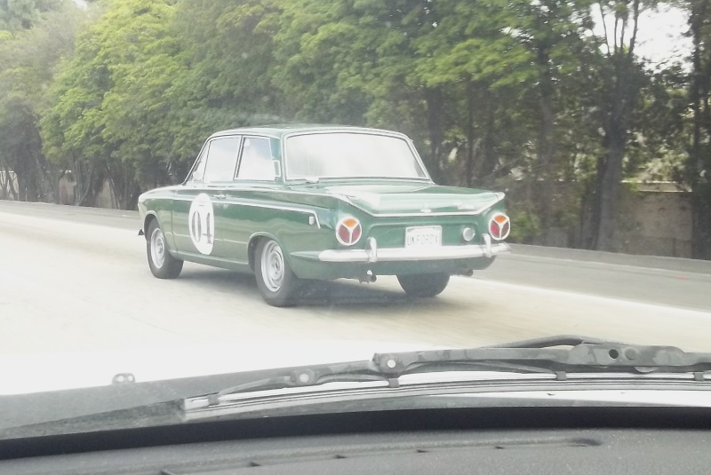 Ford Cortina at speed 1