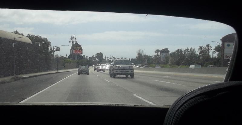 Ford Cortina at speed 5