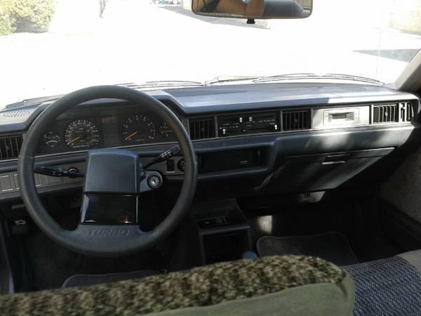 Mitsubishi Tredia turbo dash