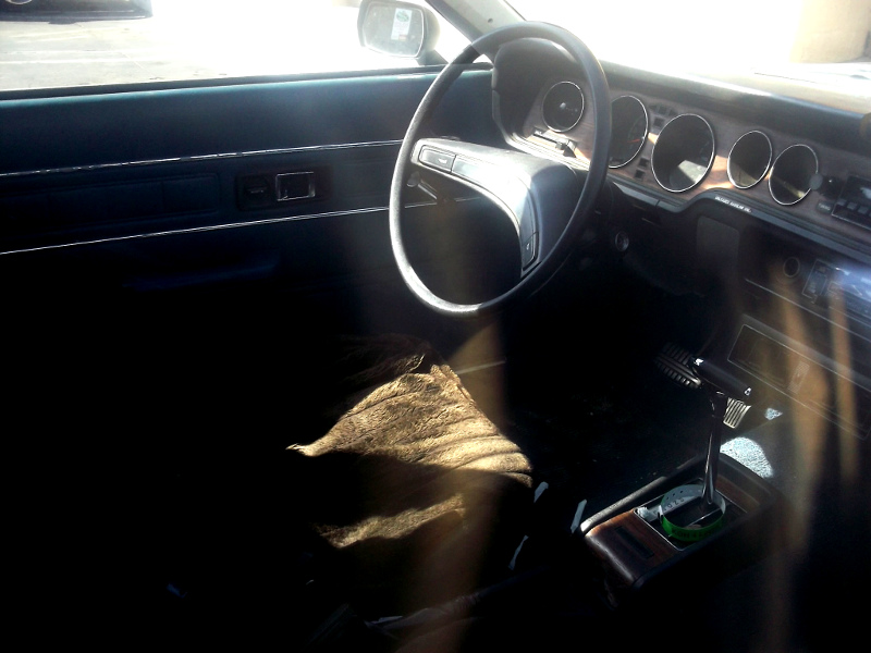 Plymouth Arrow Interior