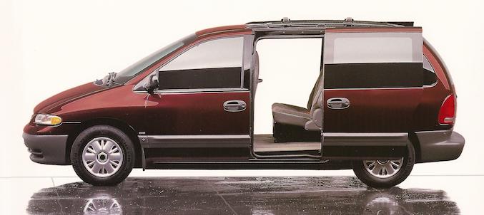 Chrysler minivan sliding doors
