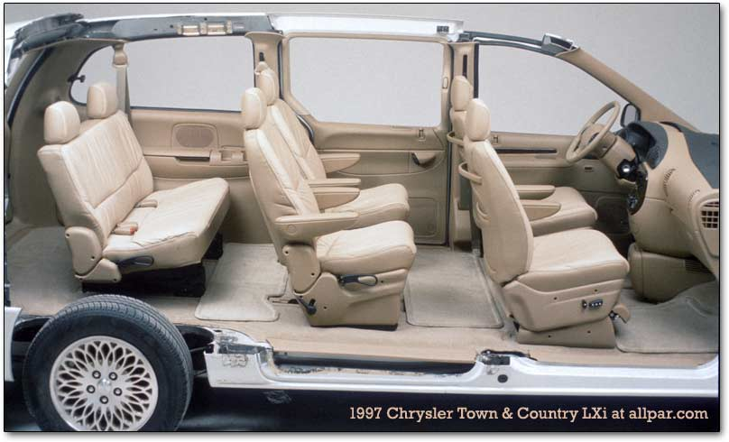 Automotive History The 1996 2000 Chrysler Ns Minivans
