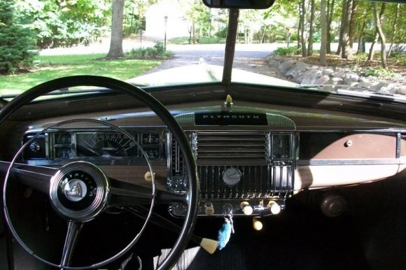 1947 Plymouth Deluxe Interior 1