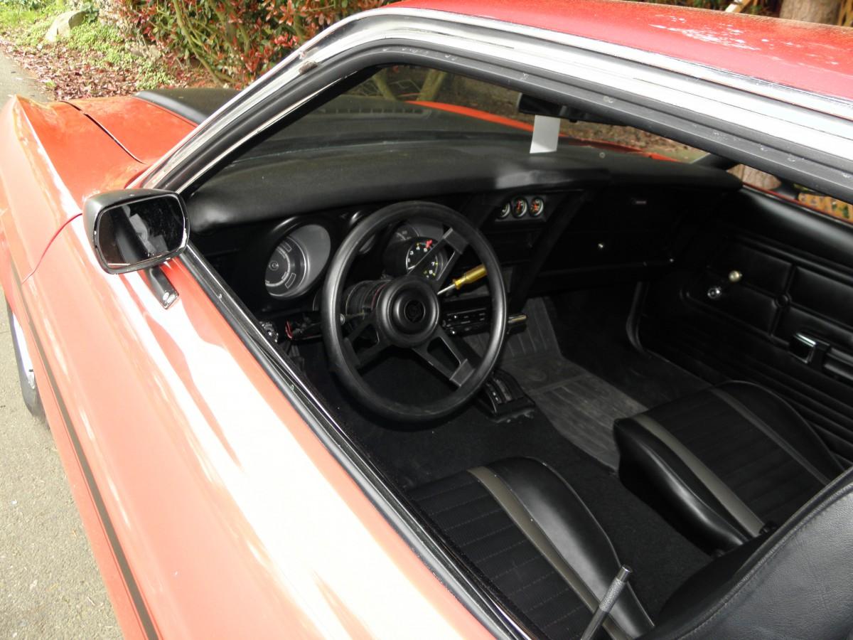 1972 Mustang Interior Red 1972 mustang mach 1 _13