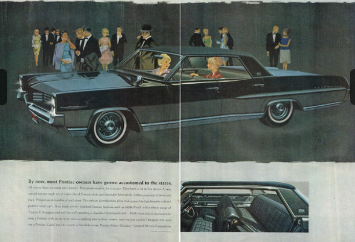 Automotive History/Curbside Classic: 1964 Pontiac Bonneville Brougham – The True Father Of The ...