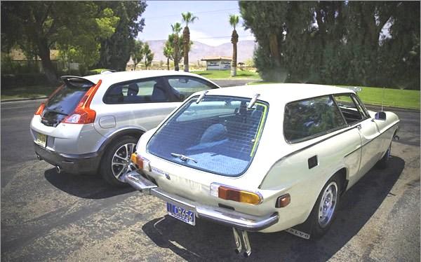 VolvoC30 Volvo 1800ES
