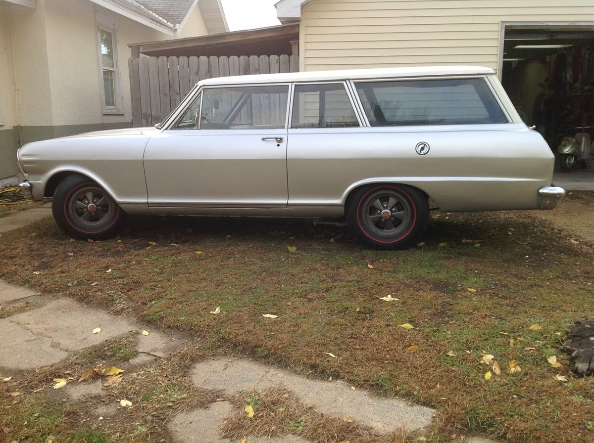 1965 Chevy Ii Two Door Station Wagon Factory Copo Original Or Fake The Verdict It S A Fake But Recent Commenters Are Still Claiming Otherwise Curbside Classic