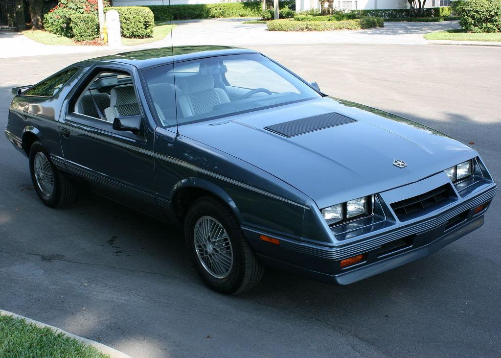Ebay Find 1984 Chrysler Laser Turbo Mopar S Answer For