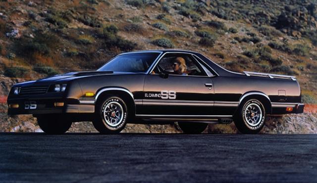 Cc Capsule 1983 87 Chevy El Camino Ss El Caminos De La