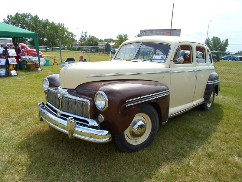 Canada day classics canadian ford branding history for 1946 mercury 4 door sedan