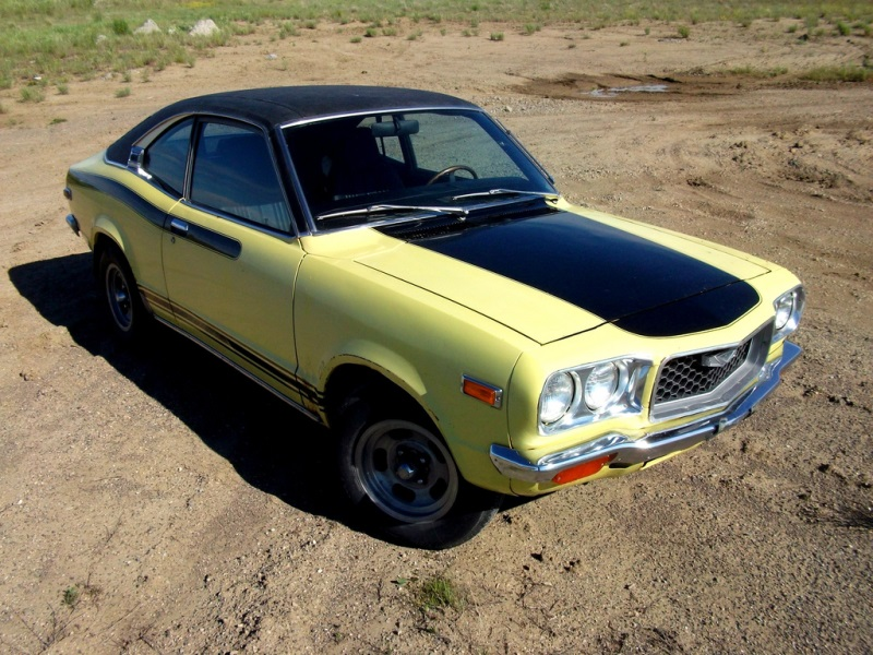 coal 1973 mazda 808 coupe piston powered and groovy. Black Bedroom Furniture Sets. Home Design Ideas