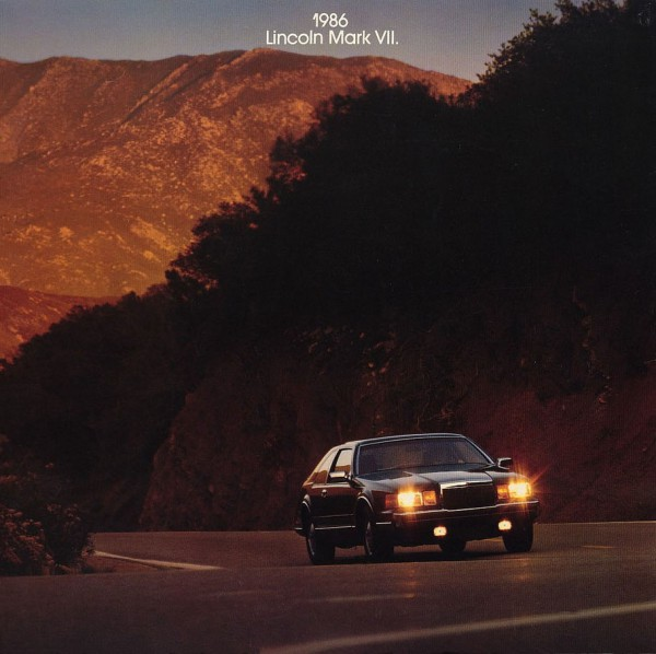 curbside classic 1986 lincoln mark vii aero luxury rh curbsideclassic com