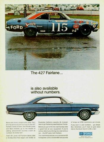 Ford Fairlane 1967 427