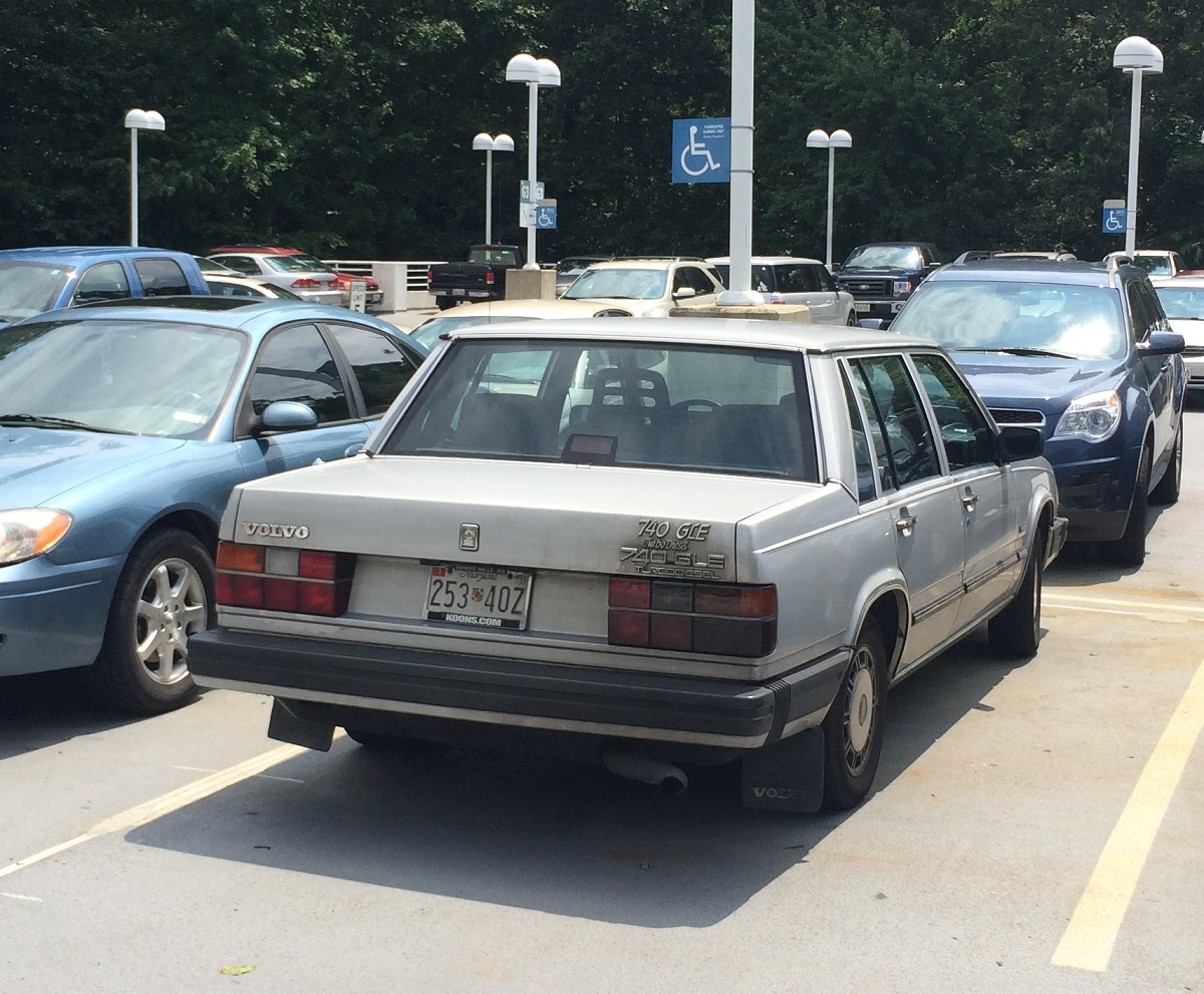 Cc Capsule Volvo 740 Gle Turbodiesel A 1980s Diesel So Nice They Named It Twice Curbside Classic