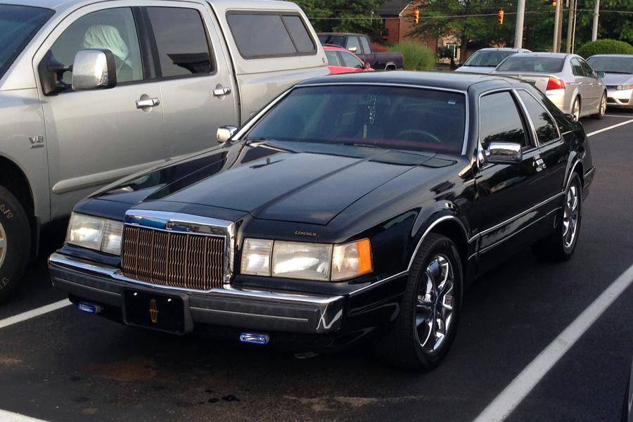 1988 Lincoln Mark VII LSC c