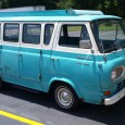 """These old Econolines are rare enough but this """"Travel Wagon"""" version seems even more so. It was parked on the very end of a grocery store parking lot in Spartanburg […]"""