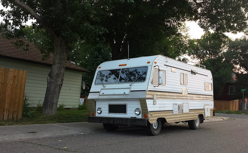 Cc Outtake Vintage Unnamed Rv From Trailer To Motorhome