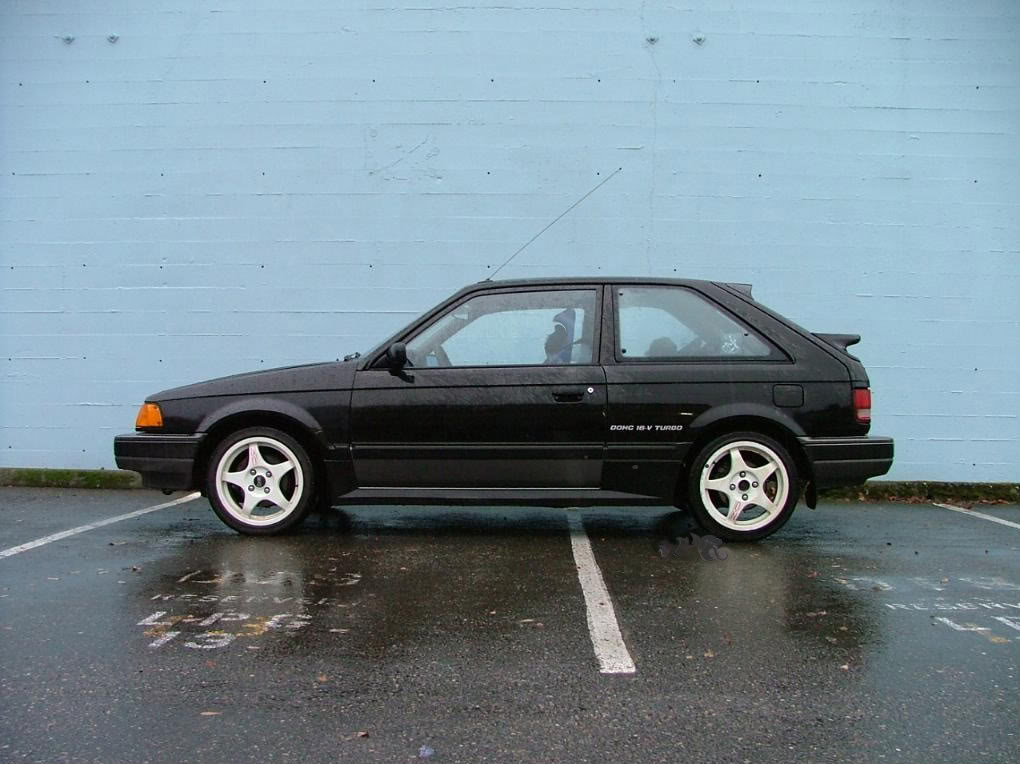 curbside classic 1988 mazda 323 a better little and very basic car. Black Bedroom Furniture Sets. Home Design Ideas