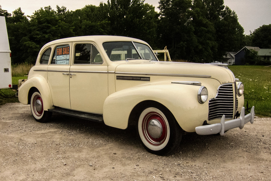 curbside classic 1940 buick special an early b body