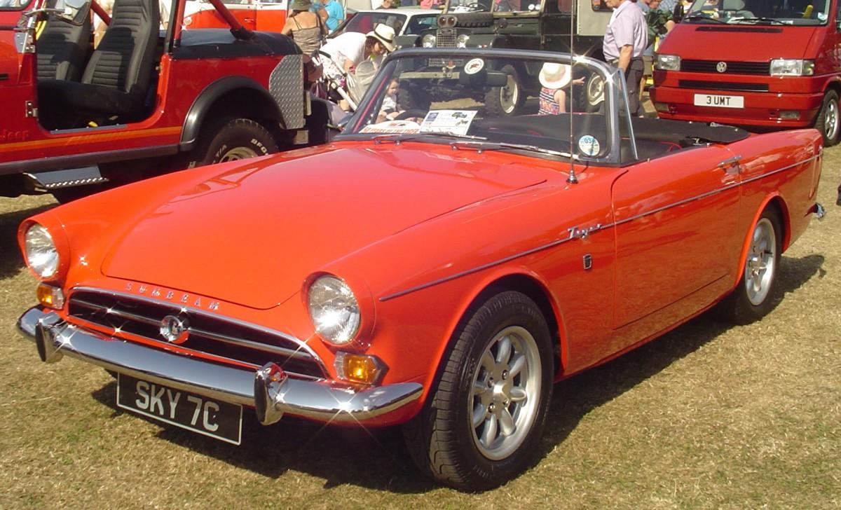 Sunbeam Tiger Car Shows