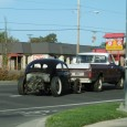 Having just caught an original oval-window VW on the go recently, here goes another, but not under its own power. The tow rig is a nice vintage GMC too. Now […]