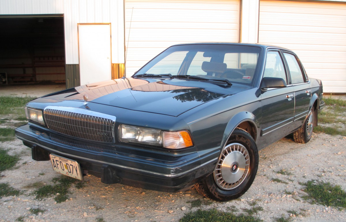 cc capsule 1993 buick century farewell to a loyal friend. Black Bedroom Furniture Sets. Home Design Ideas