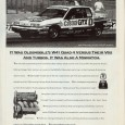 This ad brings up an interesting question: how do you promote a relatively new engine in a dated, unremarkable car? In Oldsmobile's case, for this December 1991 ad, you ignore […]