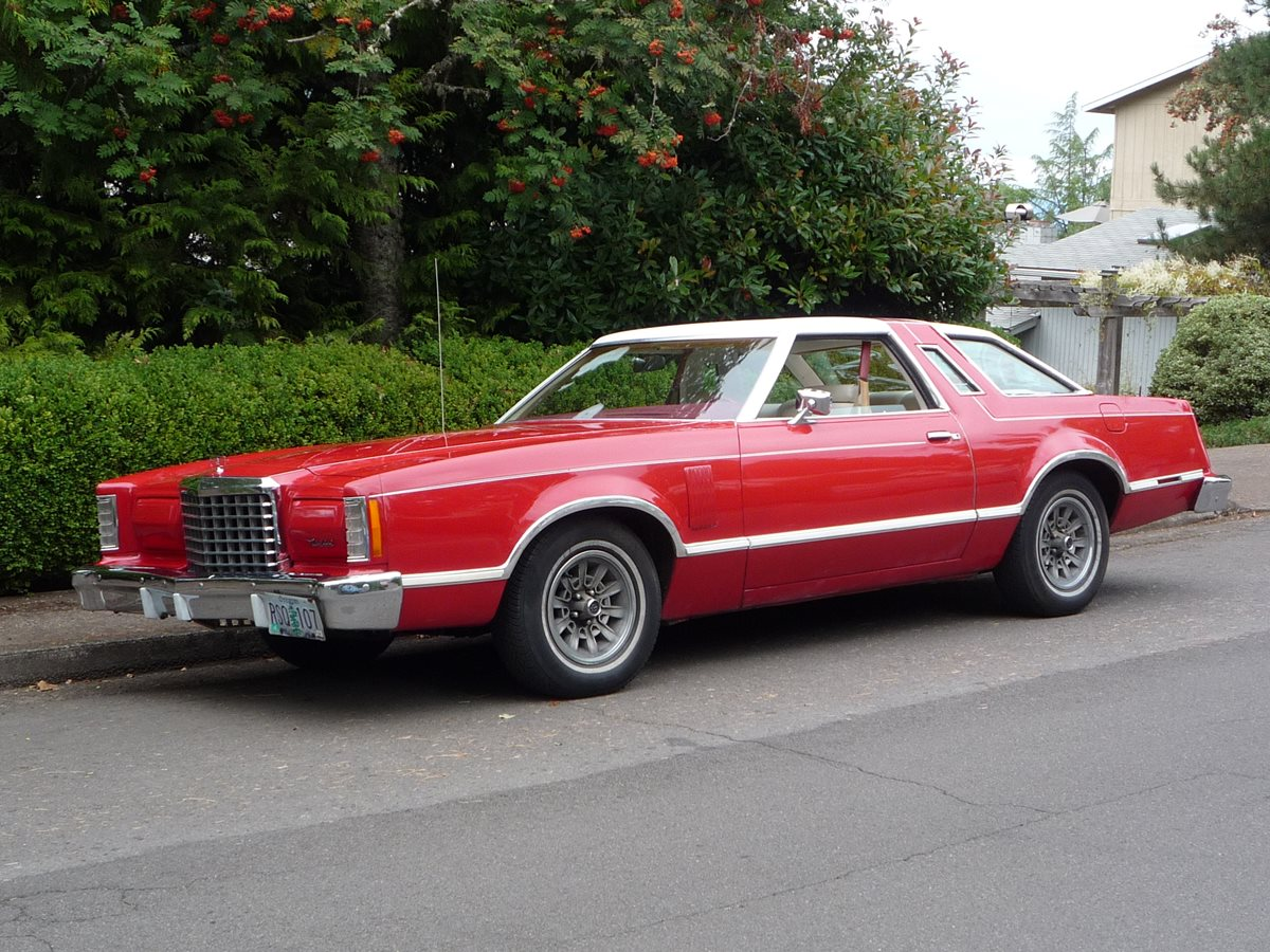 Build A Mustang >> Curbside Classic: 1977 Ford Thunderbird – Mark Jr, or It's All In The Suspension