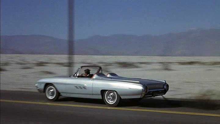 Curbside classic 1961 ford thunderbird convertible the for Ford palm springs motors