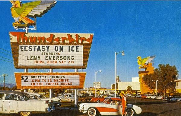 Vintage Postcards Thunderbirds Of A Different Kind