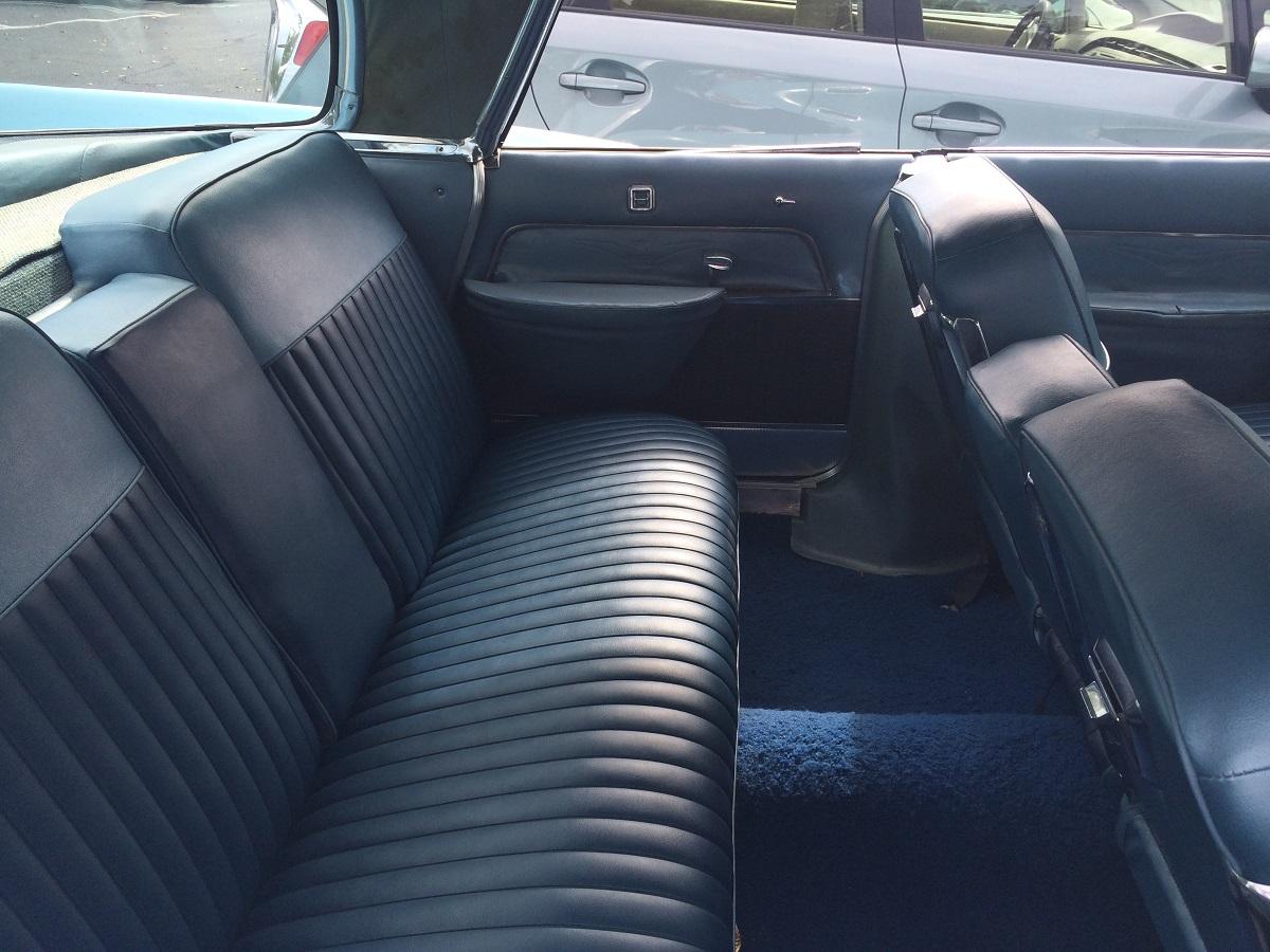 14 Rear seat