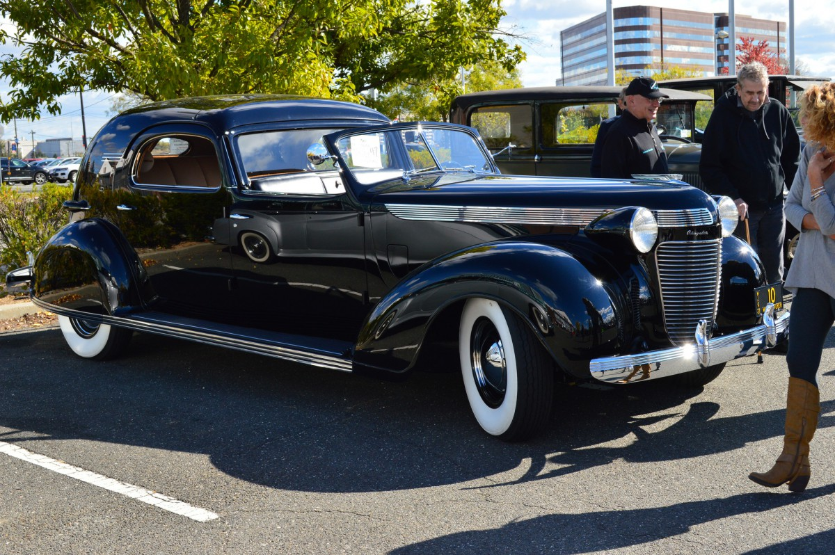 Cohort Sighting: 1937 Chrysler Imperial Town Car