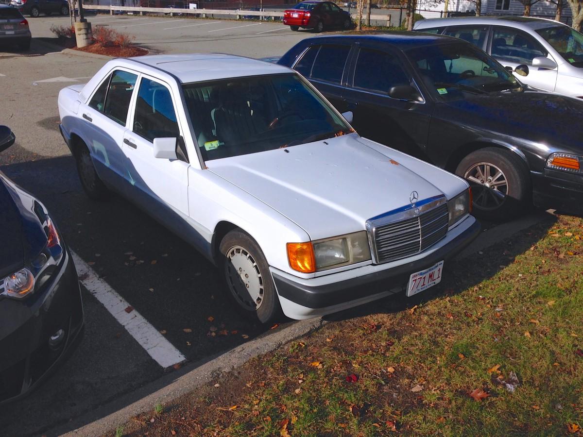 Cc capsule 1991 mercedes benz 190e w201 snow white for Mercedes benz 190e 1991