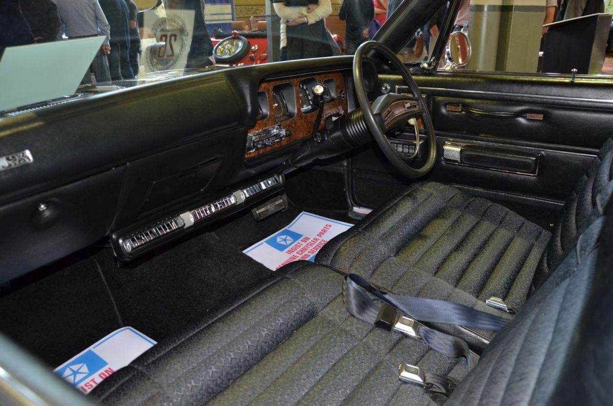 1972 Chrysler Hardtop interior