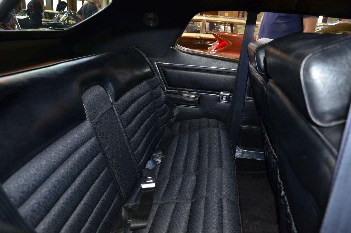 1972 Chrysler Hardtop rear seat