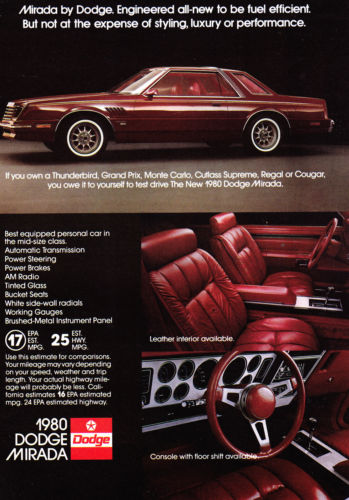 Curbside Capsule: Dodge Magnum and Mirada – Last Christmas These Stole My Heart