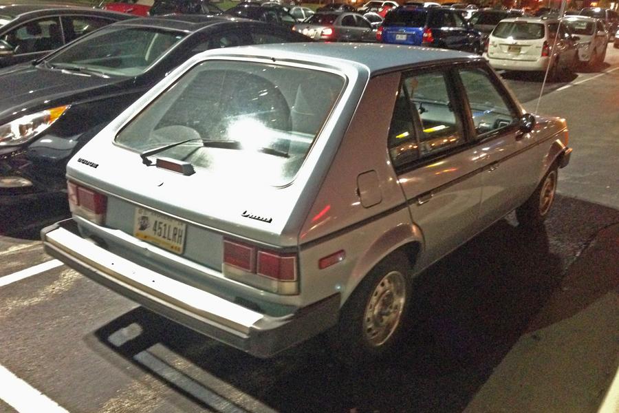 1985 Dodge Omni a