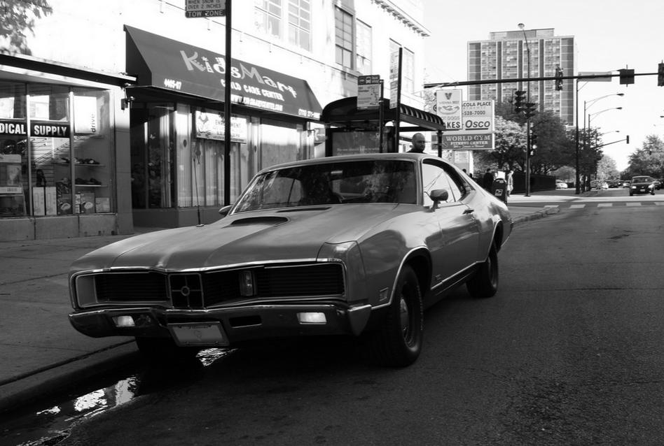 Mercury 1970 Cyclone GT fr