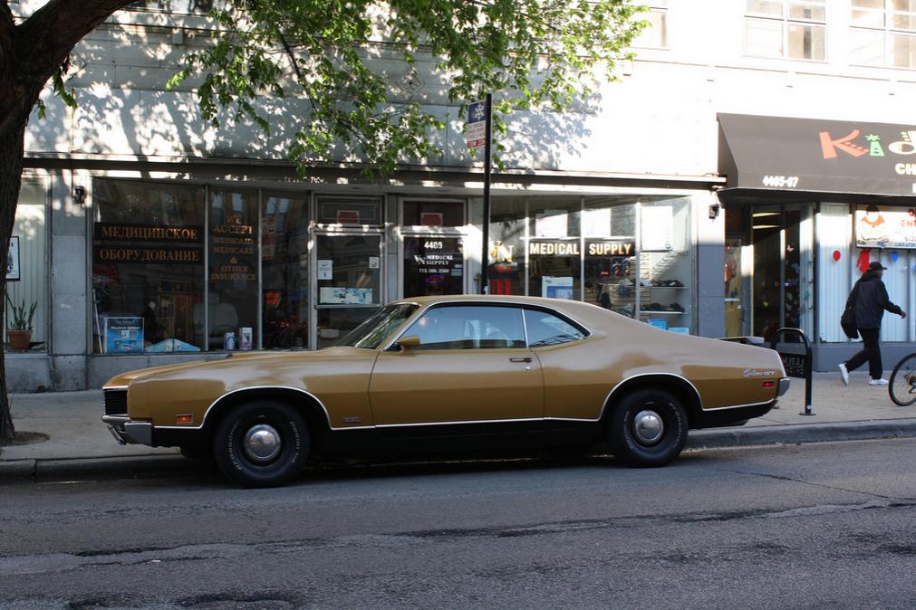 Mercury 1970 Cyclone GT side