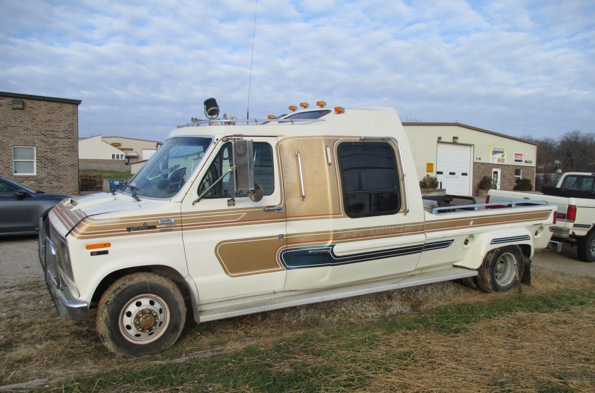 Curbside Classic 1990 Ford E 350 By Cabriolet Purpose