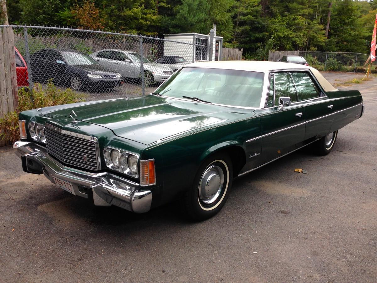 1973 Chrysler New Yorker Brougham Sell Used 1973 Chrysler