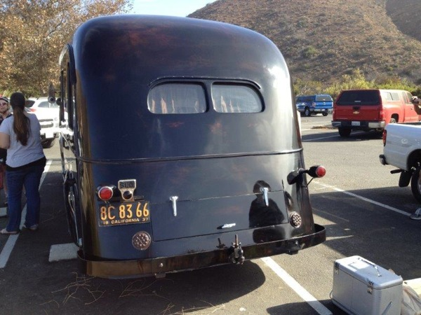 Packard 1937 RV rear