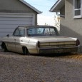 (submitted by Garry Melnyk) I have been driving by a house on the way to my mother's senior's residence for two plus years now. The 1962 Pontiac Parisienne in the […]