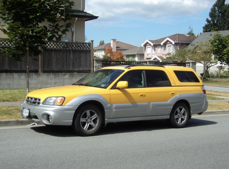 Cohort Outtake Subaru Baja The Double Cab Ranchero