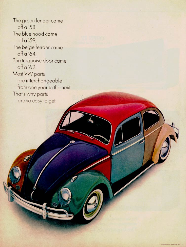 Cc Outtake Vw Beetle Harlequin The Non Factory Version